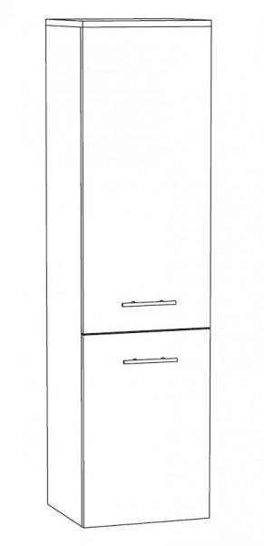 Marlin Bad 3030 - Christall Bad-Mittelschrank 40 cm breit MTT4F