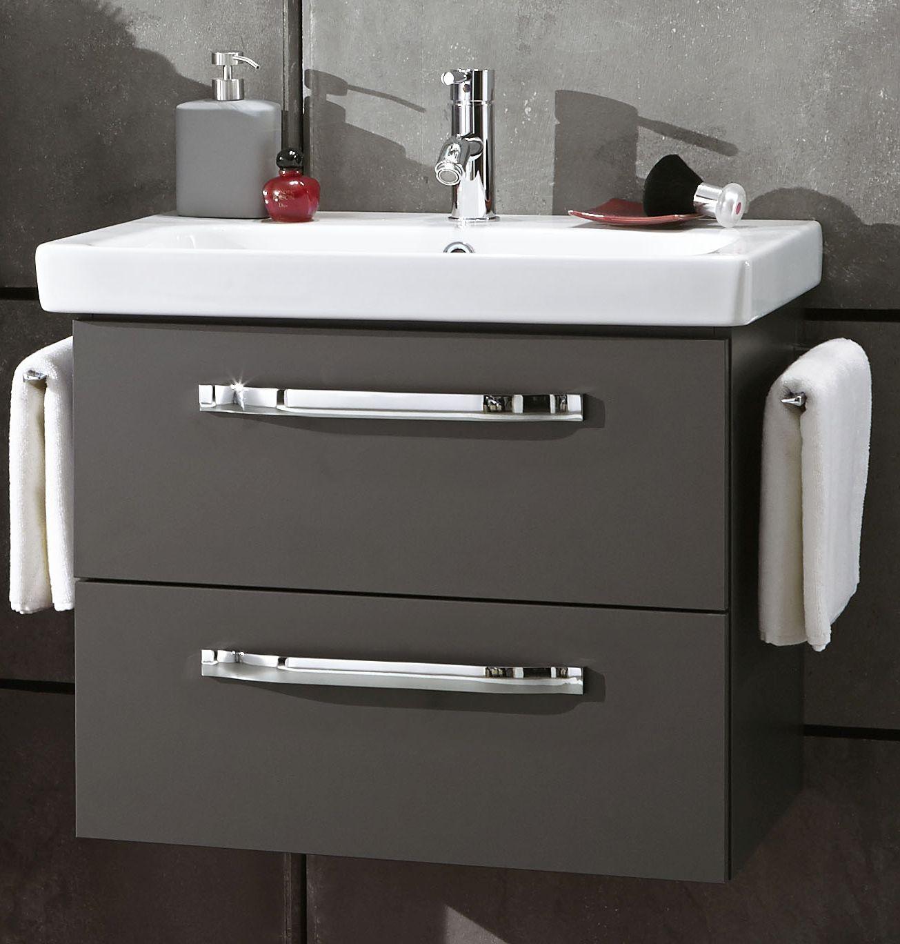 marlin bad 3060 waschtisch mit unterschrank 65 cm breit badm bel 1. Black Bedroom Furniture Sets. Home Design Ideas