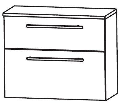 Puris Linea Bad-Unterschrank 60 cm breit UNA346A01