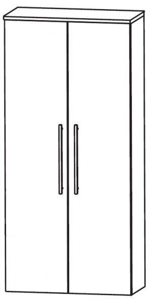 Puris Linea Bad-Mittelschrank 60 cm breit MNA816A01