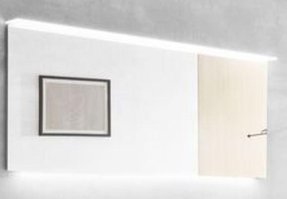 b.essence - Flächenspiegel inkl. Beleuchtung 160 cm breit