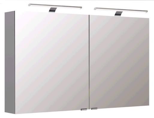 Pelipal Spiegelschrank 120 cm S5-SPSD 20 - Neutraler Spiegelschrank