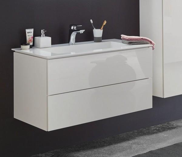 Puris Slim Line Waschtisch mit Unterschrank 91,2 cm breit SETSL90MG