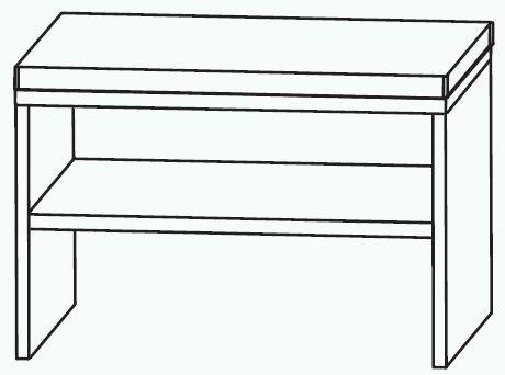 Puris Variado 2.0 Bad-Sitzbank 60 cm breit SETBANK6