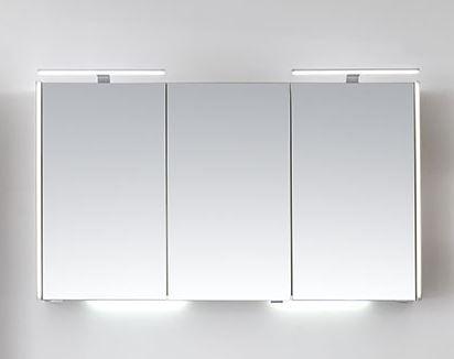 Pelipal Solitaire 6040 Bad-Spiegelschrank für Doppelwaschtisch mit LED -Profil / 123 cm SDEE00112