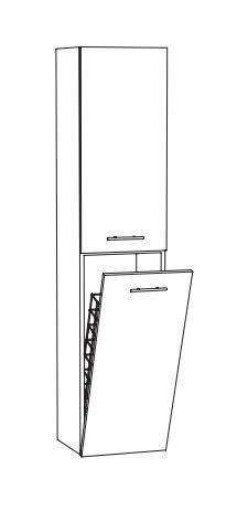 Marlin Bad 3260 Bad-Hochschrank HTW4 L/R