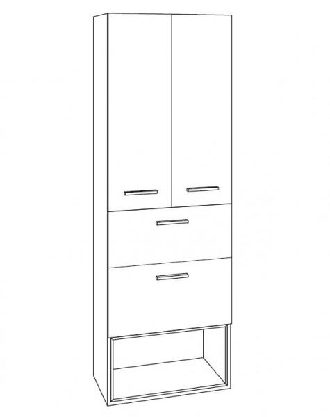 marlin bad 3250 bad hochschrank 60 cm breit htaae6. Black Bedroom Furniture Sets. Home Design Ideas