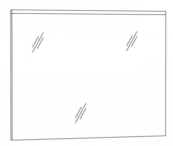 Marlin Bad 3110 Badspiegel 80 cm breit SPABA8 L/R