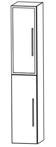 Puris Kao Line Bad-Hochschrank 30 cm breit HNA03315 L/R