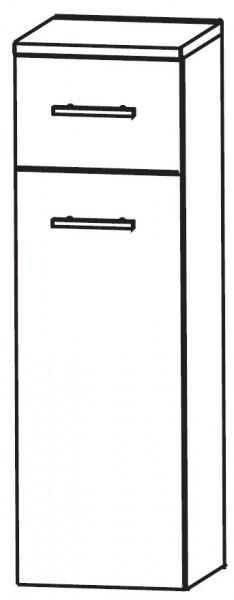 Puris Linea Bad-Highboard mit Wäschekippe 30 cm breit HBA553W01