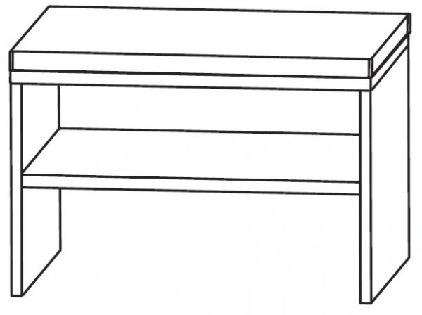 Puris Star Line Bad-Sitzbank 60 cm breit SETBANK6