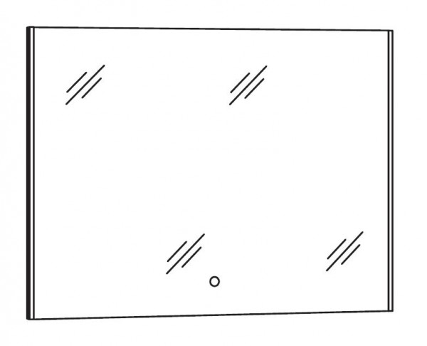 Marlin Bad 3290 Bad-Spiegel 90 cm breit SPBSA9