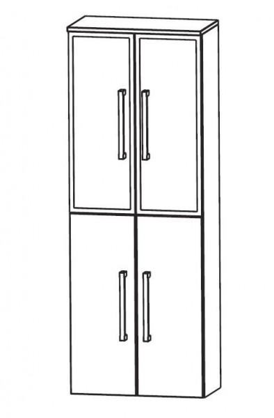 Puris Speed Bad-Hochschrank 60 cm breit HNA036B