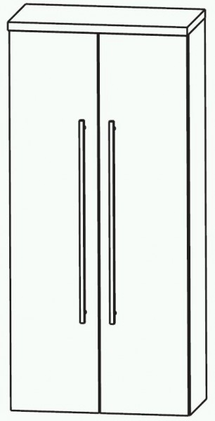 Puris Swing Bad-Mittelschrank mit Innenschubkasten 60 cm breit MNA846A7