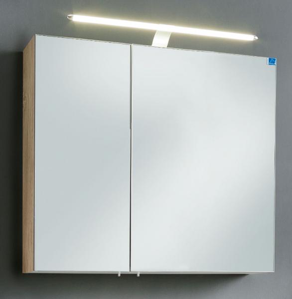 Marlin bad 3030 christall bad spiegelschrank 80 cm breit for Bad spiegelschrank 80 cm breit