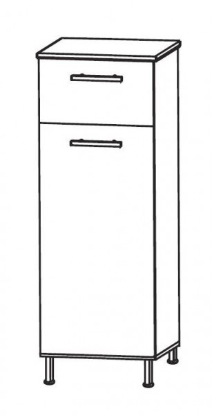 Puris Quada Bad-Highboard 40 cm breit HBA554W1S