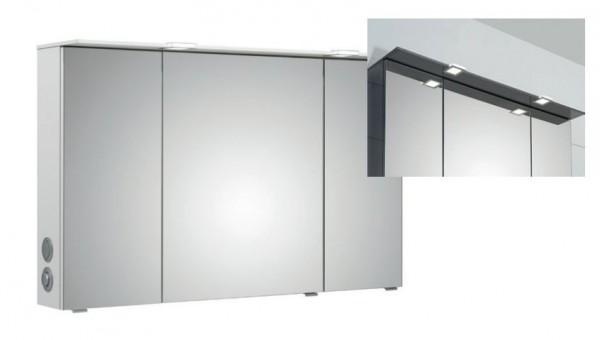 Pelipal Solitaire 6910 Spiegelschrank mit LED-Lichtkranz / 85 cm breit