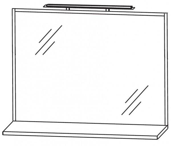 Puris Fresh Badspiegel 100 cm breit FSA4510B1