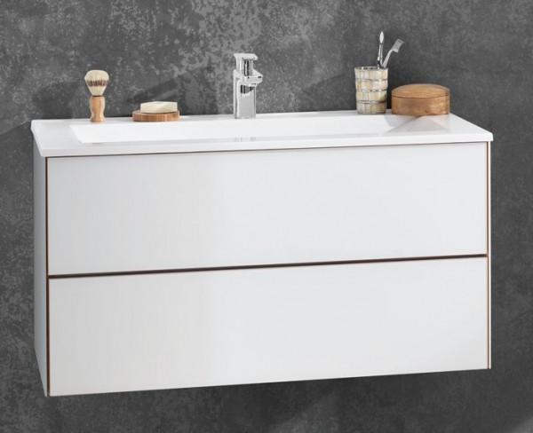 Puris Ice Line Waschtisch mit Unterschrank 92 cm breit