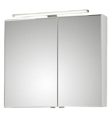 Pelipal 6110 Spiegelschrank mit LEDplus-Aufsatzleuchte 80 cm breit 6110-SPS 10