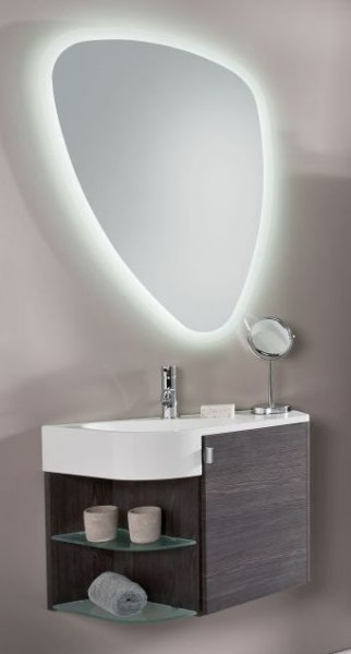 Marlin Gästebad 3010.3 – Sun Badmöbel Set 65 cm breit