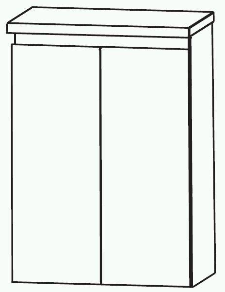 Puris Variado 2.0 Bad-Highboard 60 cm breit HBA516A7