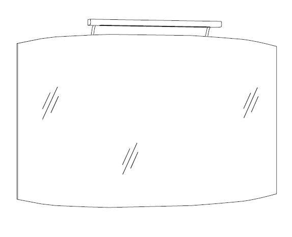 Marlin Bad 3100 - Scala Badspiegel 120 cm breit SCSP120