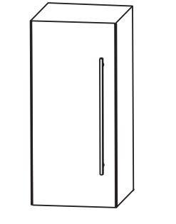 Puris Fine Line Bad-Oberschrank 30 cm breit OGA4130 L/R