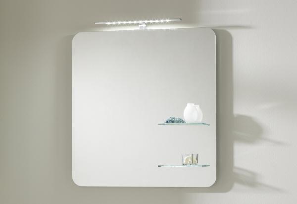 Pelipal Solitaire 6900 Badspiegel 68 cm breit NT-SP 05 - Ablage rechts