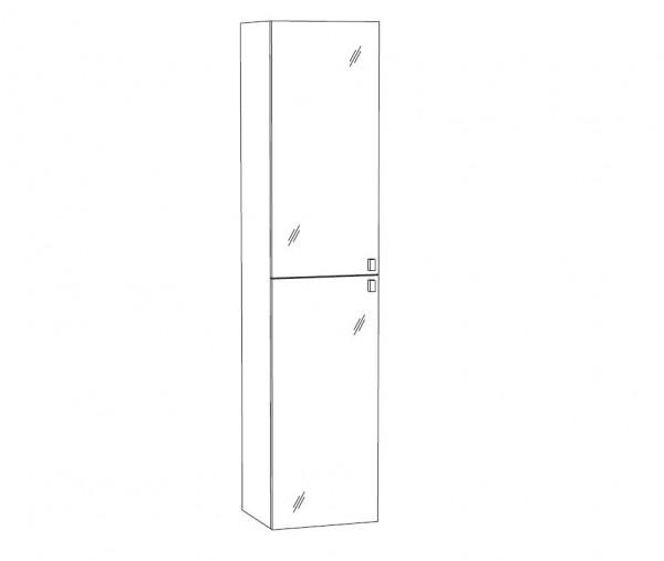 Marlin Bad 3290 Bad-Hochschrank 40 cm breit HPP4 / HFPP4