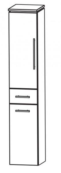 Puris Cool Line Bad-Hochschrank mit Wäschekippe 40 cm breit HNA054A5W