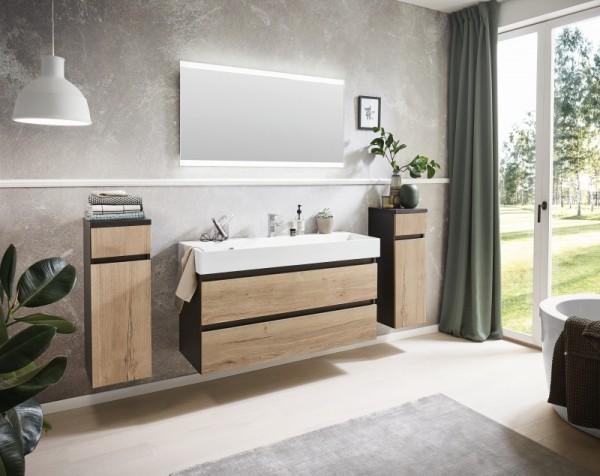 Puris 4Landa - Badmöbel Set 122 cm / mit Flächenspiegel