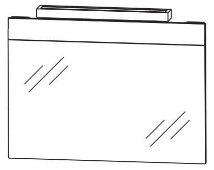 Puris Kera Trends Badspiegel 90 cm breit FSA4190B8 – sofort lieferbar