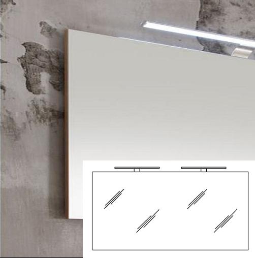 Pelipal Solitaire 6005 Badspiegel 140 cm breit AG-FSP 04