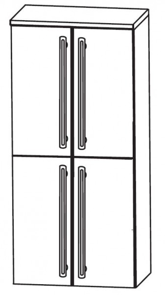 Puris Brillant Bad-Mittelschrank 60 cm breit MNA8360A2