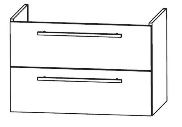 Puris Waschtischunterschrank für Ideal Standard Connect maßvariabel