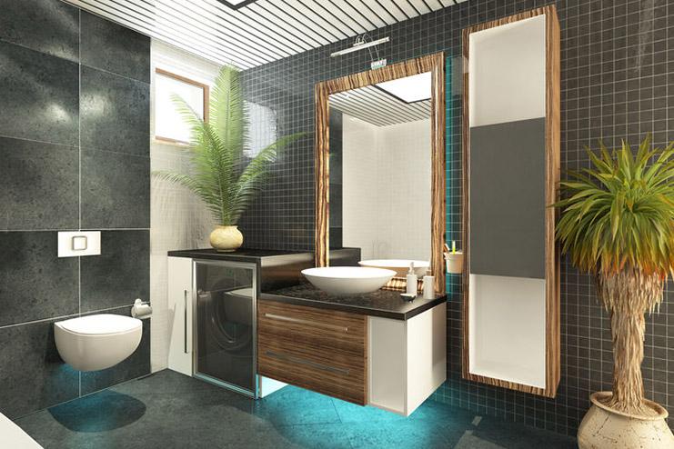 Badgestaltung » Dekorieren Sie Ihr Badezimmer mit Pflanzen!