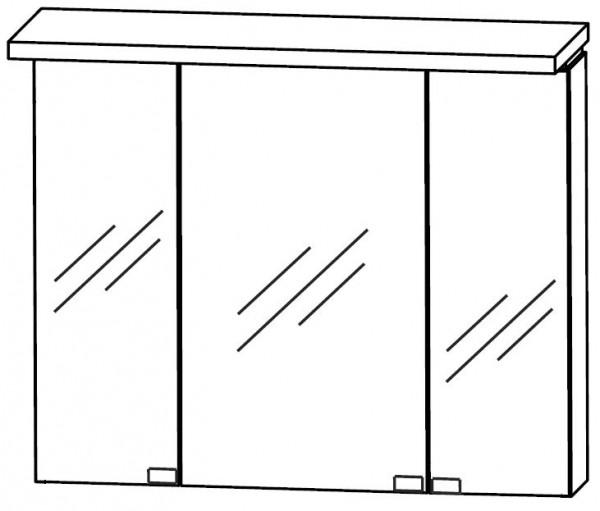 Puris Cool Line Spiegelschrank 90 cm breit S2A439A20