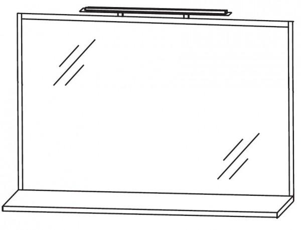 Puris Fresh Badspiegel 120 cm breit FSA4512B1