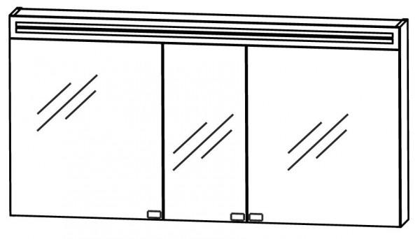 Puris Star Line Spiegelschrank 140 cm breit S2A58145