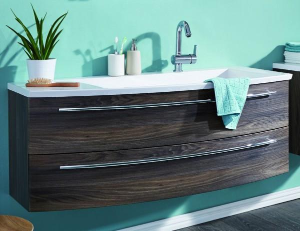 Puris Crescendo Waschtisch mit Unterschrank 140 cm breit - Becken rechts