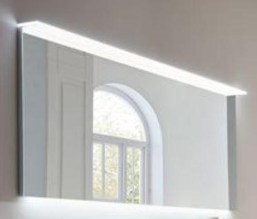 b.essence - Flächenspiegel inkl. Beleuchtung 120 cm breit