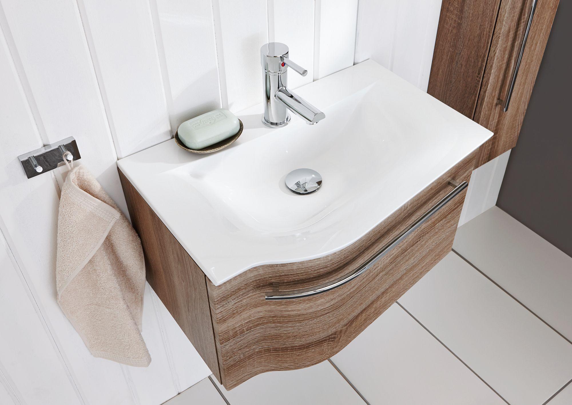 puris for guests waschtisch mit unterschrank 60 6 cm breit. Black Bedroom Furniture Sets. Home Design Ideas