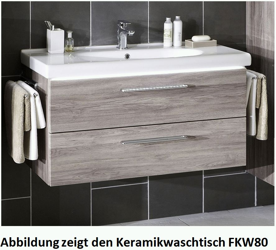 marlin bad 3020 life waschtisch mit unterschrank 80 cm breit badm bel 1. Black Bedroom Furniture Sets. Home Design Ideas