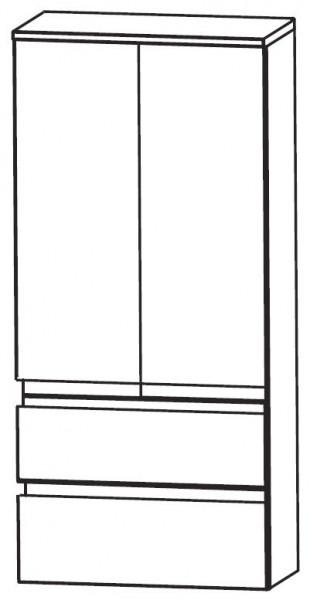Puris Purefaction Bad-Mittelschrank 60 cm breit MNA776A01