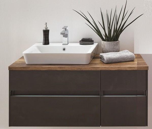 Puris Unique Waschtisch mit Unterschrank 102 cm - Ablagefläche links oder rechts