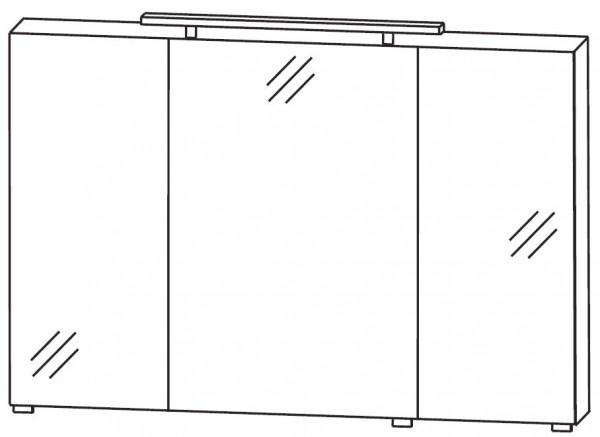 Puris Quada Spiegelschrank 120 cm breit S2A531267