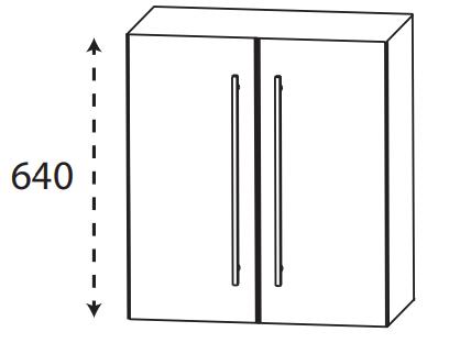Puris Protection1 - Oberschrank OGA4160 / 60 cm