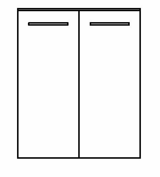 Pelipal Solitaire 6025 Highboard 60 cm 6025-HB 60-01