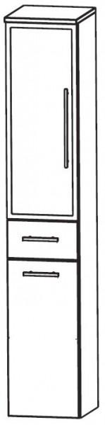 Puris Crescendo Bad-Hochschrank mit Wäschekippe 30 cm breit HNA053B7W